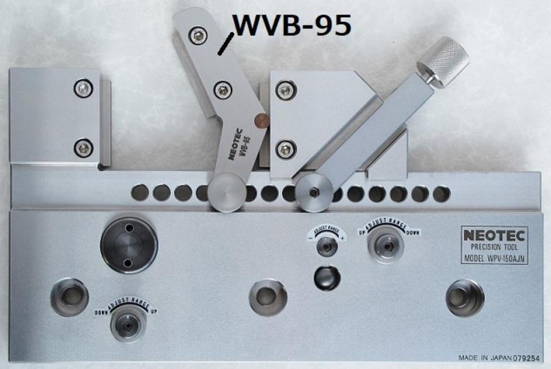 WVB-95 WPV-150AJN/150N用オプションVブロック