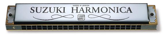 SUA-23 23-hole Tremolo Harmonica Suzuki Standard