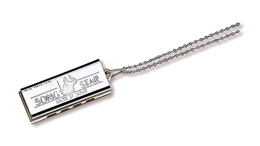 N-1200 4-hole Mini Harmonica Necklace type