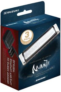M-20-MP Manji Harmonica package 3pcs